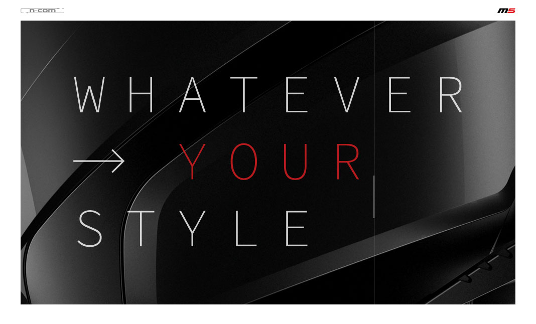Whatever Your Style website