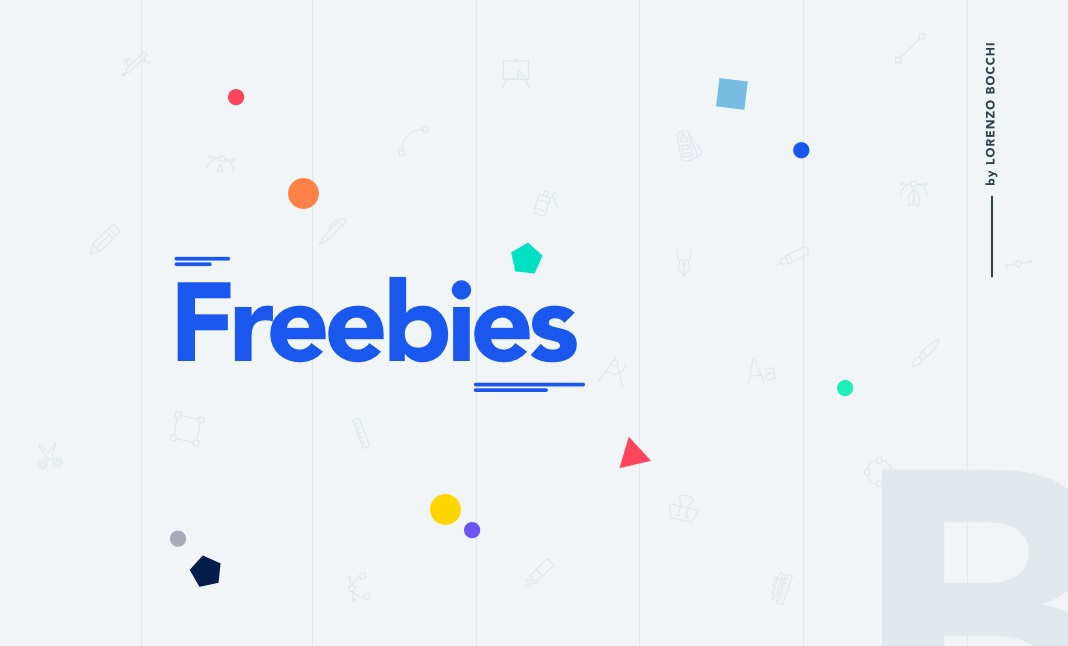 Freebies by Lorenzo Bocchi website