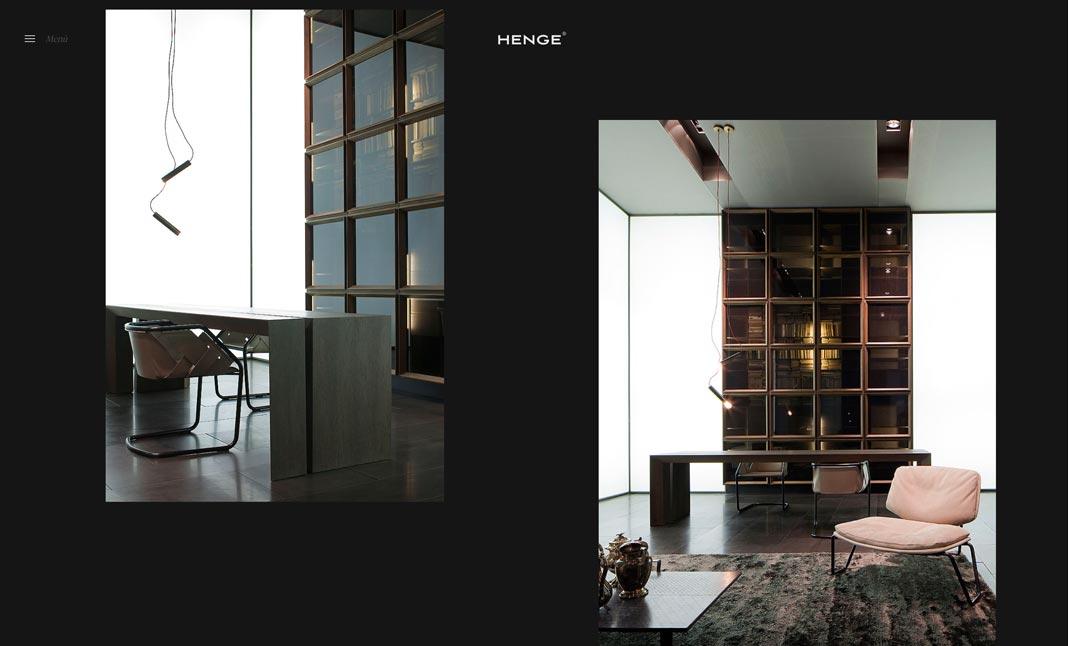 Henge Design Furniture Website Henge Design Furniture Screenshot 2 ...
