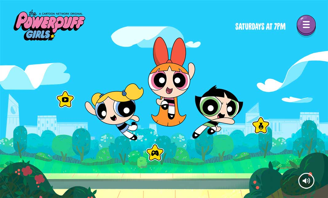 The Powerpuff Girls website