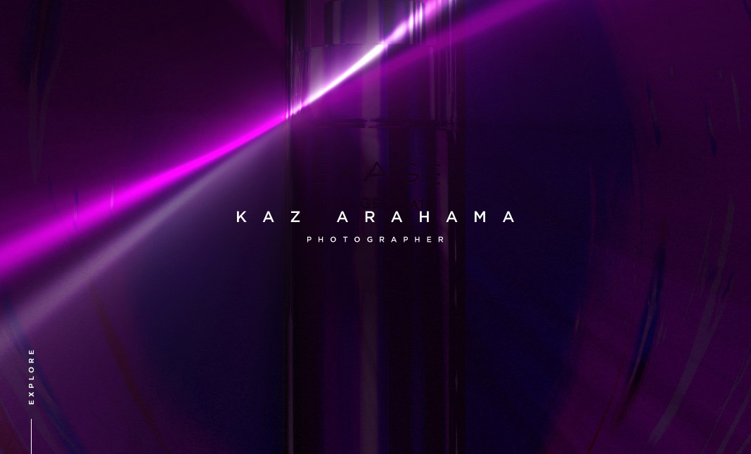 KAZ ARAHAMA website