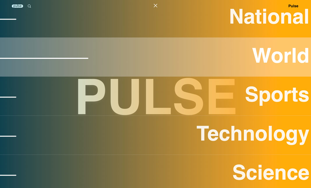 Pulse News website