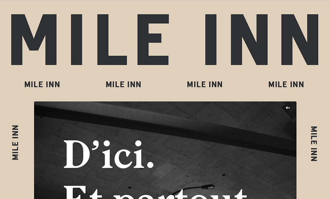 Mile Inn website