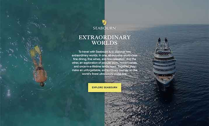 Extraordinary Worlds of Seabourn