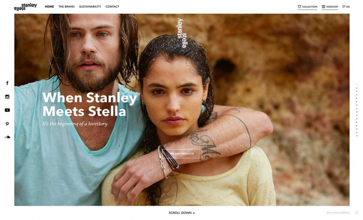 Stanley & Stella website