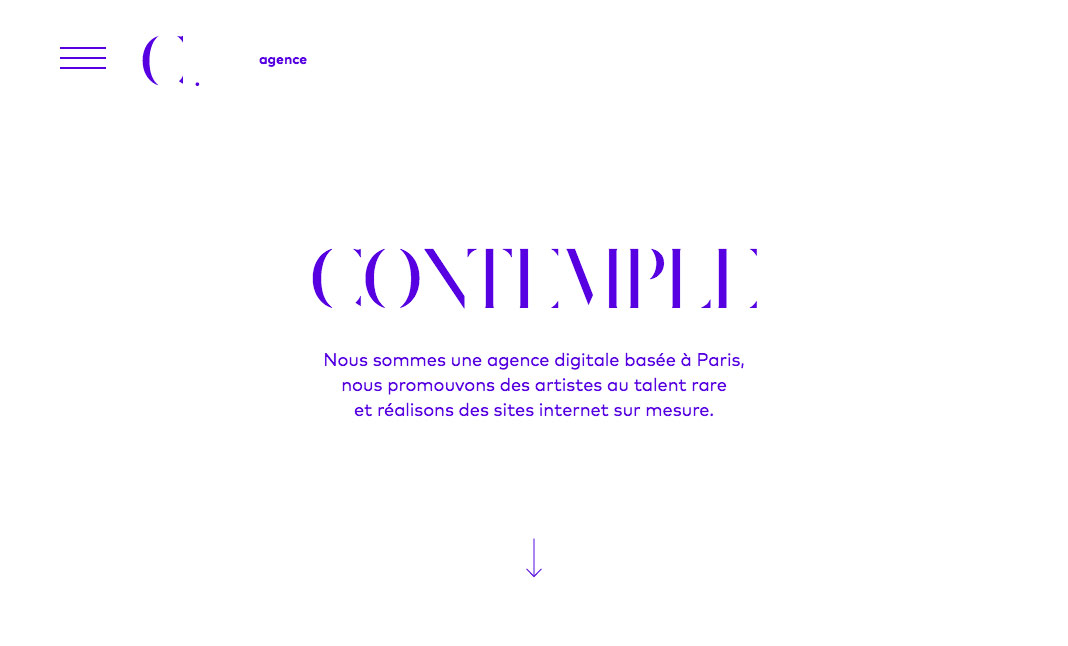 Contemple website