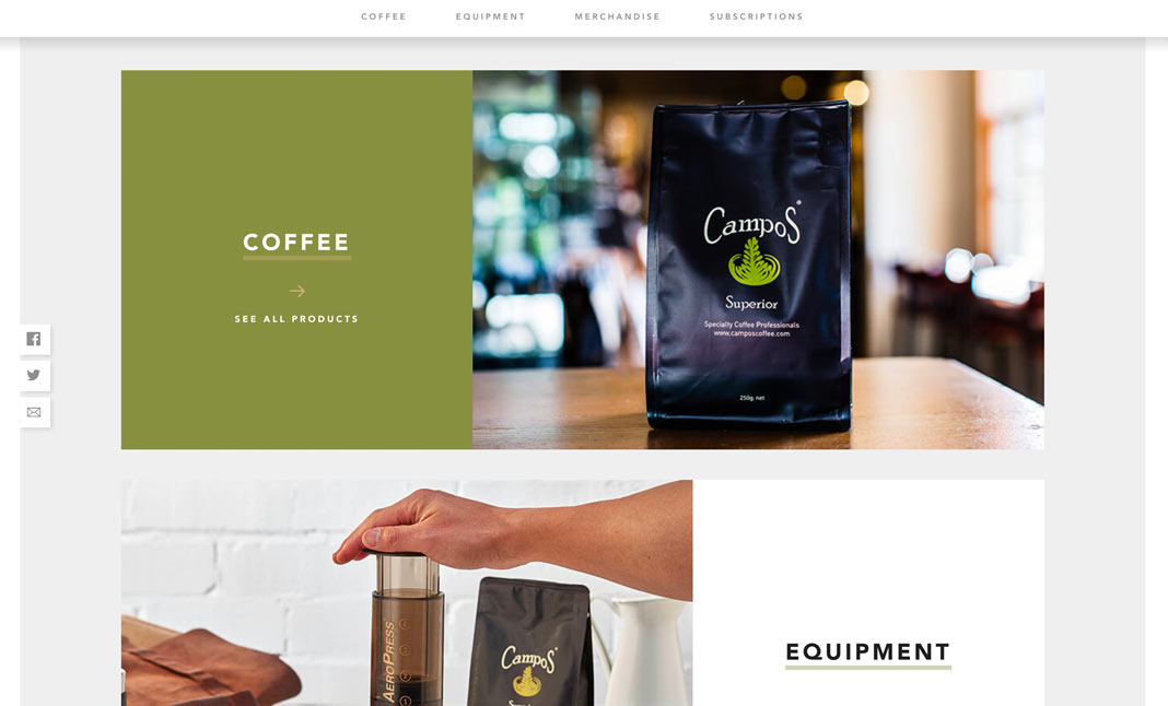Campos Coffee screenshot 3