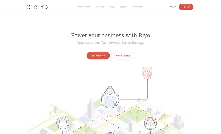 Riyo website