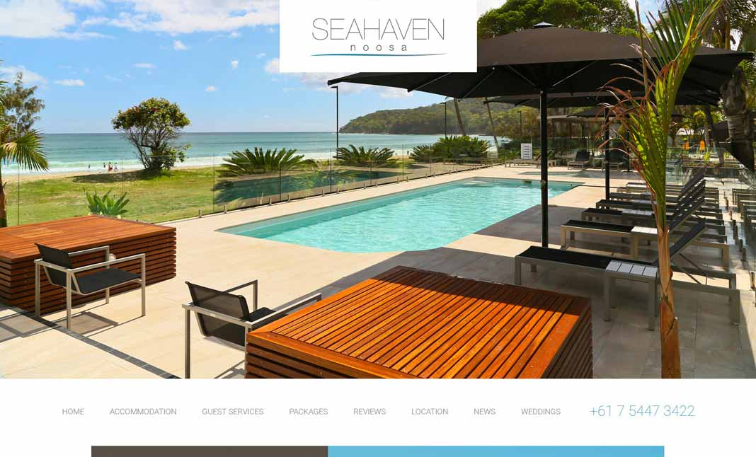 Sea Haven Resort website