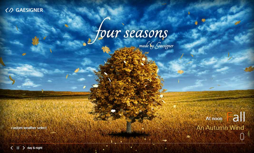 Four Seasons website