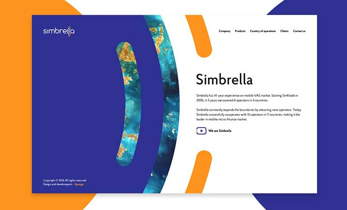 Simbrella website