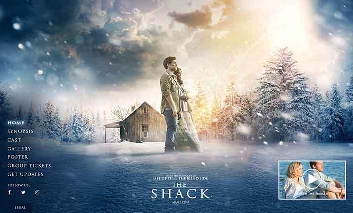 The Shack Theatrical Website