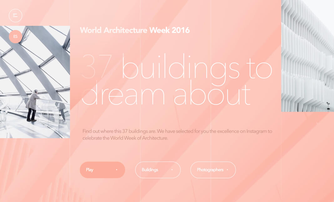 World Architecture Week 2016 website