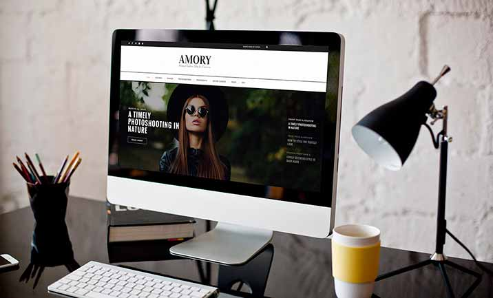 Amory - Minimal WordPress Blog