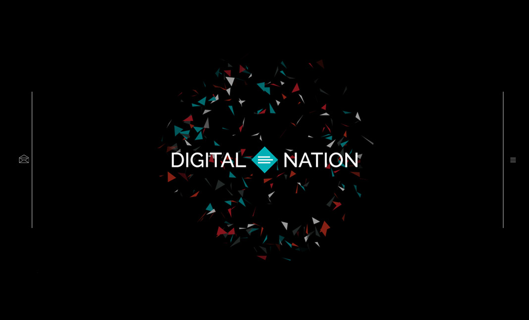 Digital Nation Creative Agency website
