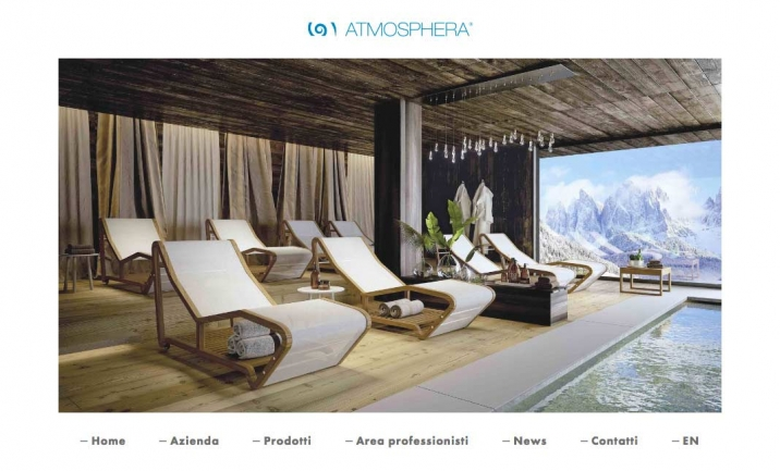 Atmosphera Italy website