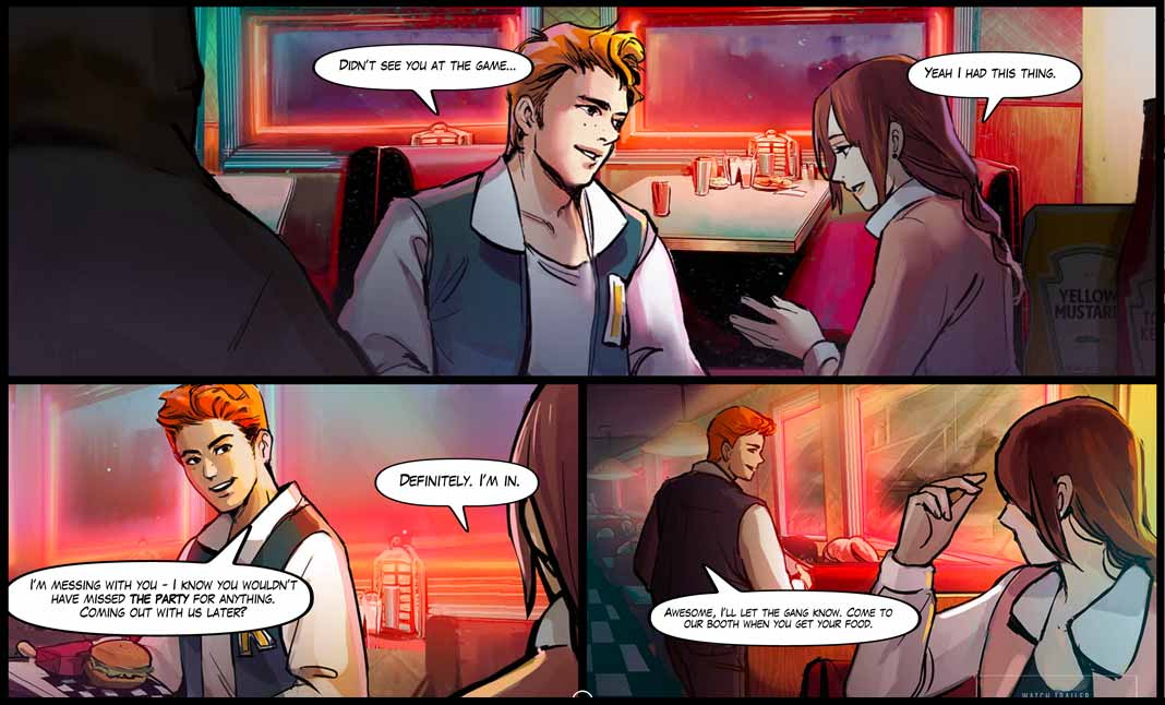 Riverdale Comic Creator screenshot 2