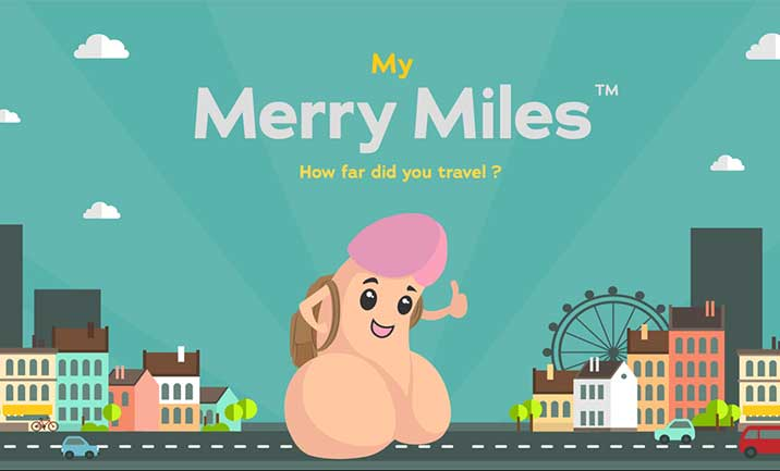 My Merry Miles website