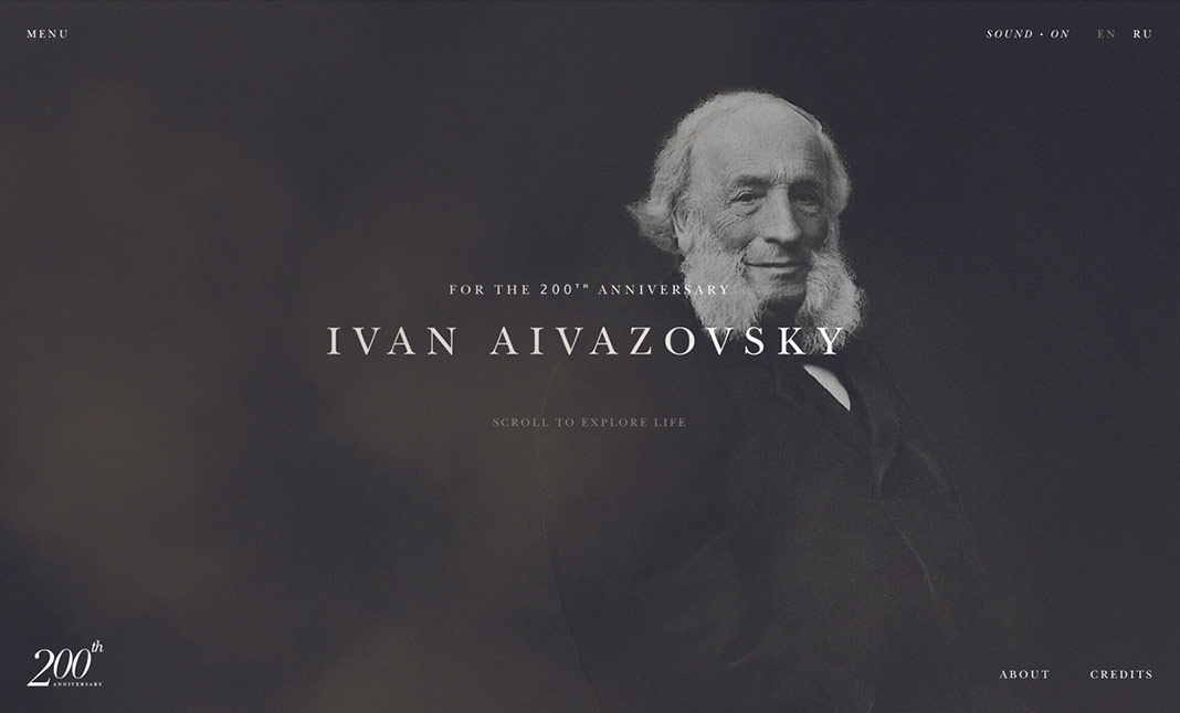 Ivan Aivazovsky website