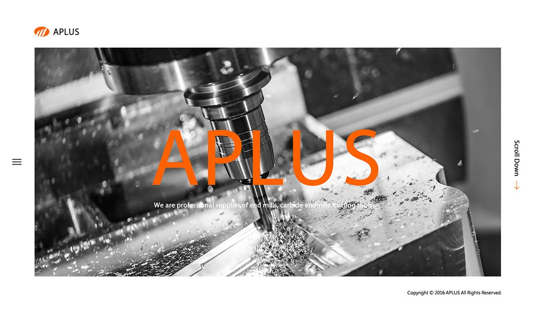 APLUS High Speed Cutting website