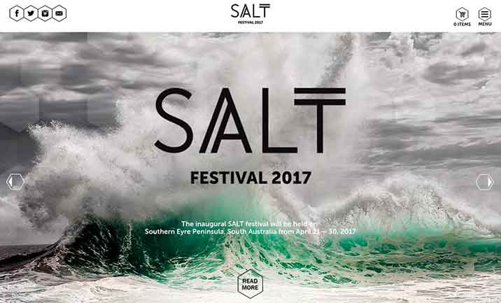 SALT Festival website