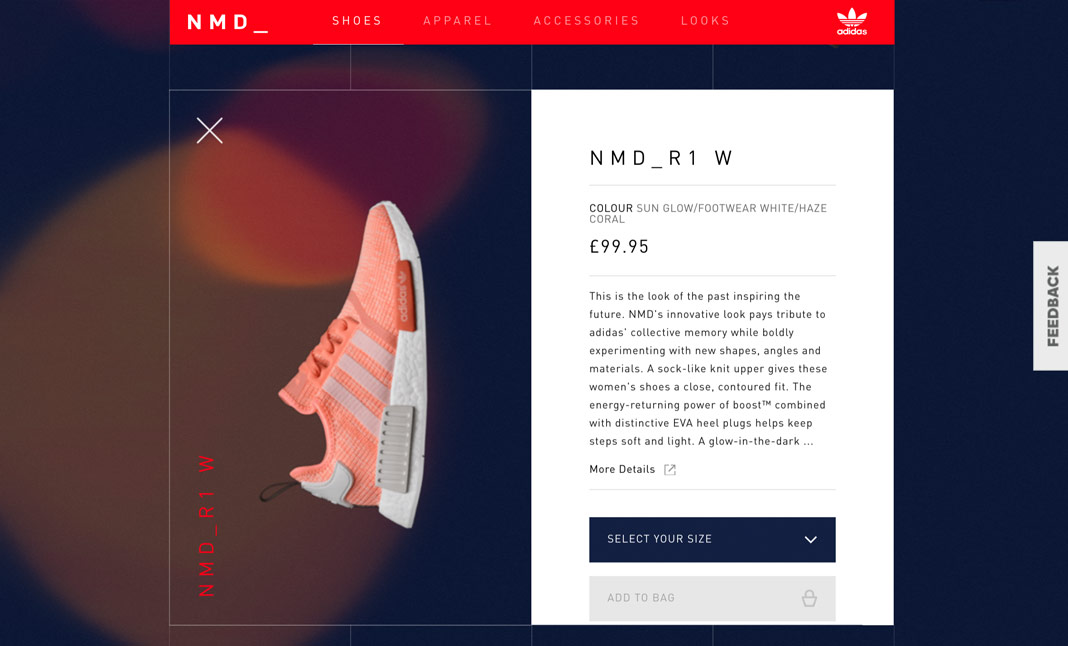 adidas NMD screenshot 2