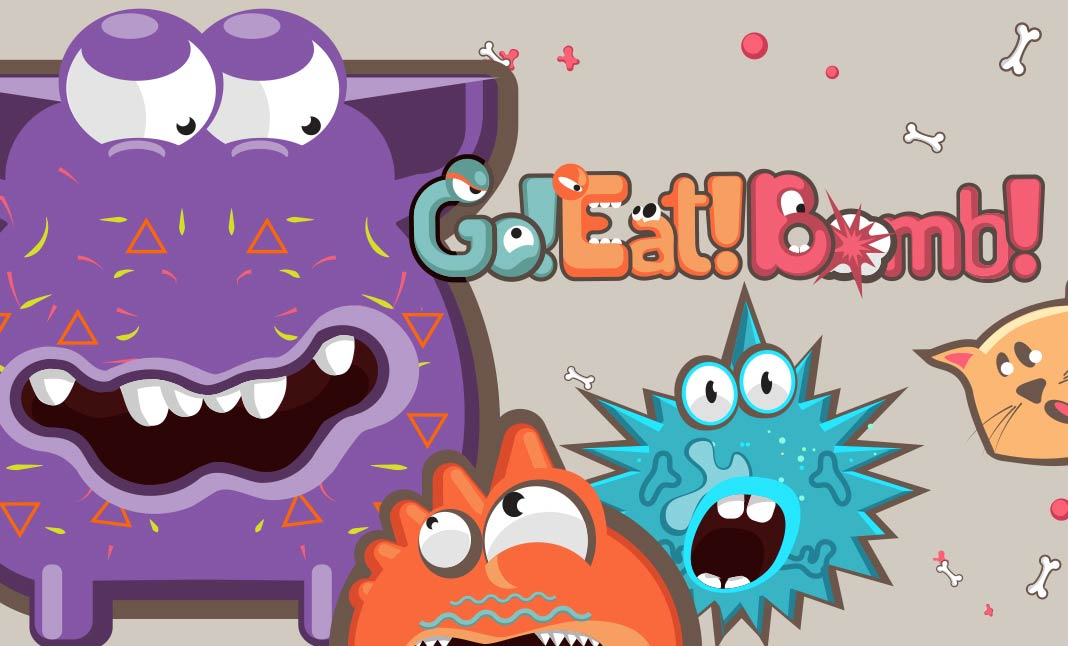 Go! Eat! Bomb! designed by 12Wave