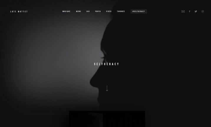 Loic Nottet website