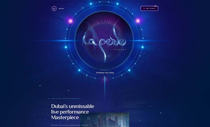 La Perle website