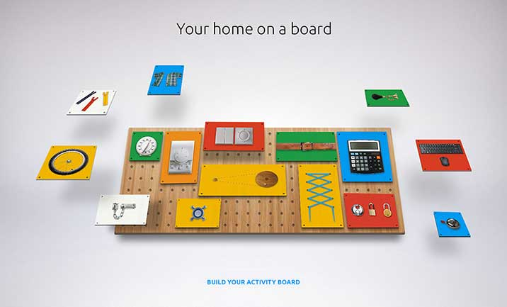 Build & Buy Activity Board website