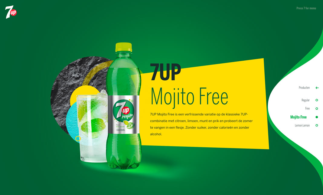 7up designed by dpdk