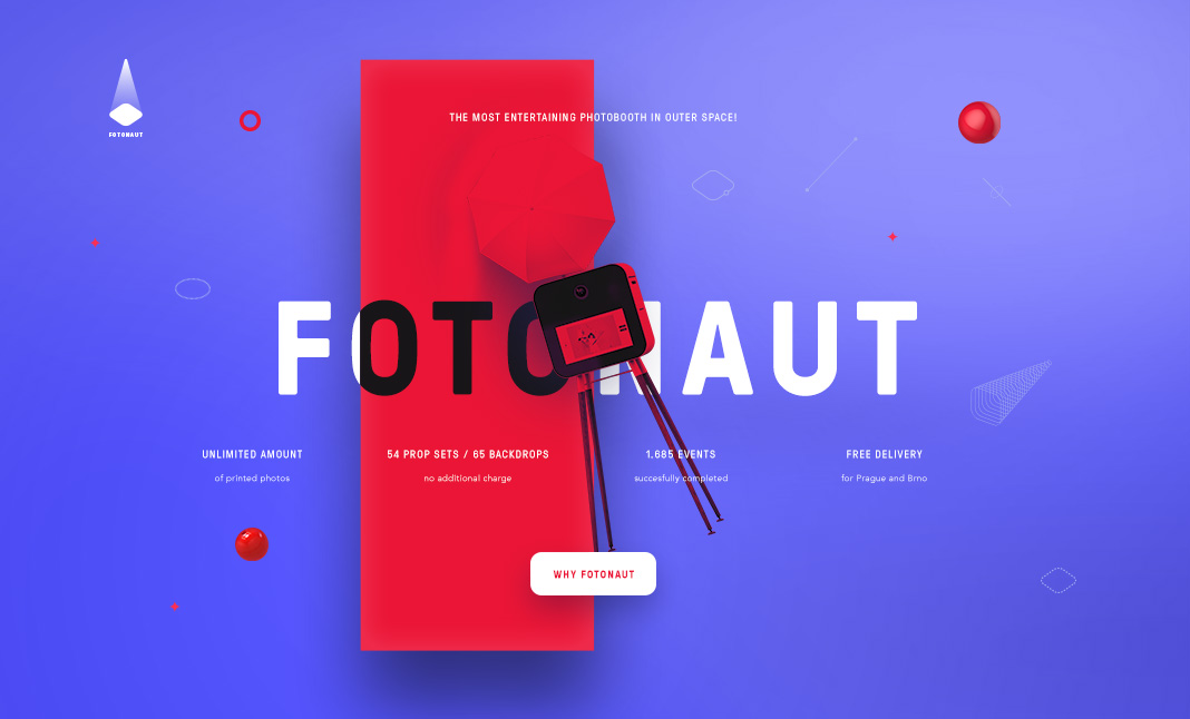 Fotonaut Events website