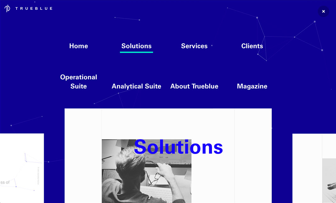 Trueblue website