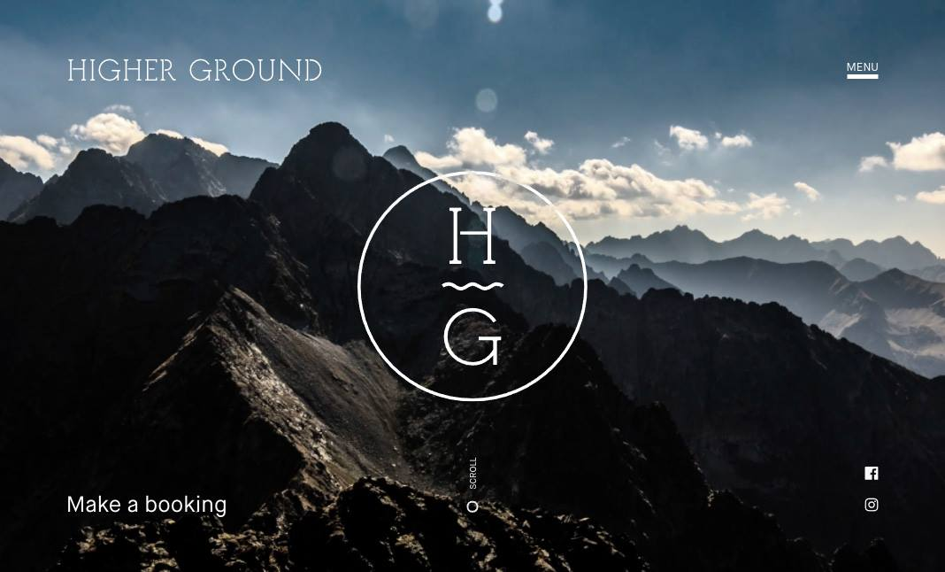 Higher Ground website