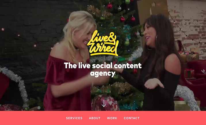 Live & Wired website