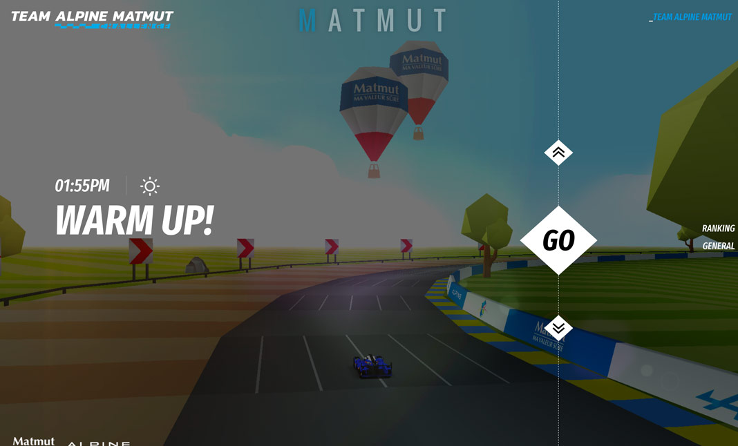 Team Alpine Matmut Challenge screenshot 3
