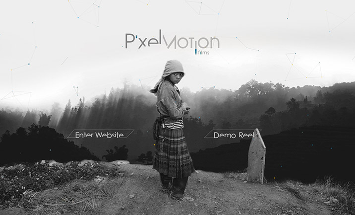 Pixel Motion Films website