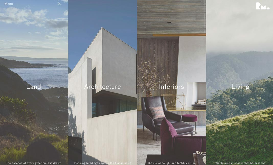 Rob Mills Architects website