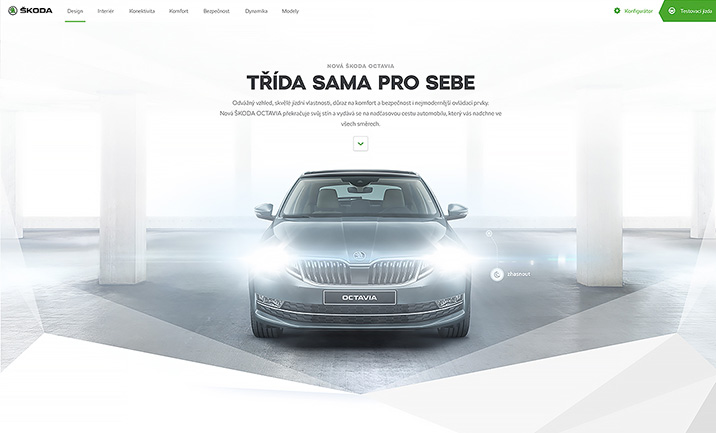 The New ŠKODA OCTAVIA website