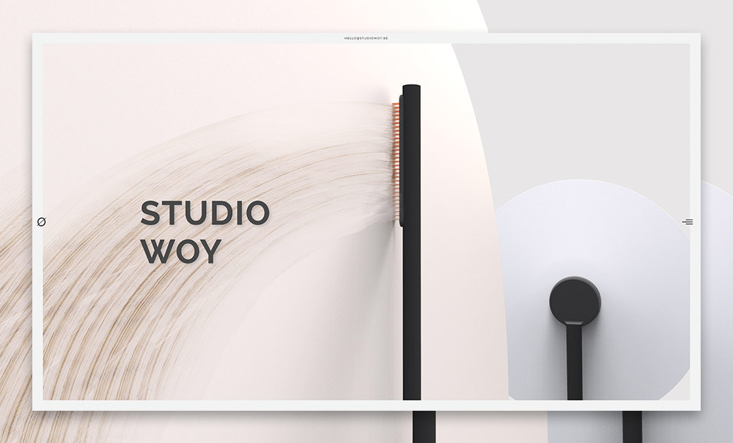 Studio Woy website