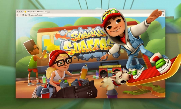 Subway Surfers website