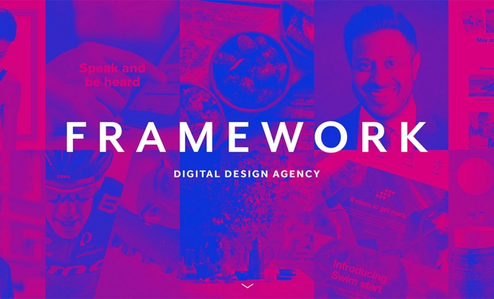 Framework Digital website