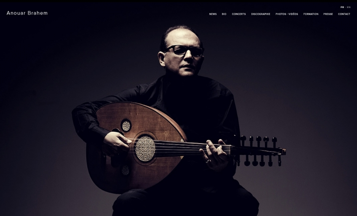 Anouar Brahem - Official Website website