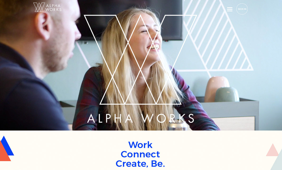 Alpha Works website