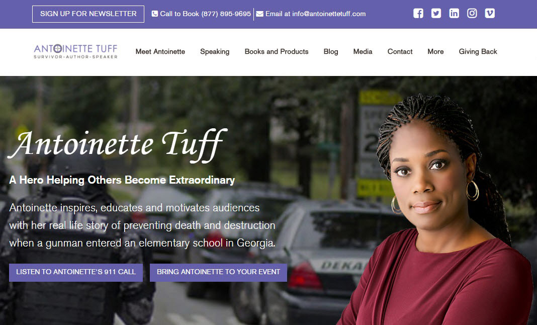 Antoinette Tuff website
