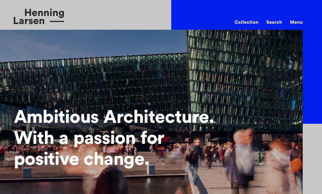 Henning Larsen Architects  website