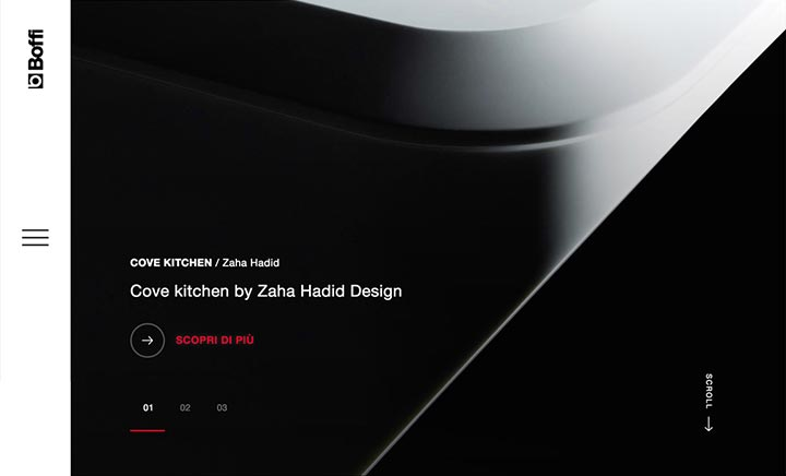 Boffi brand new site