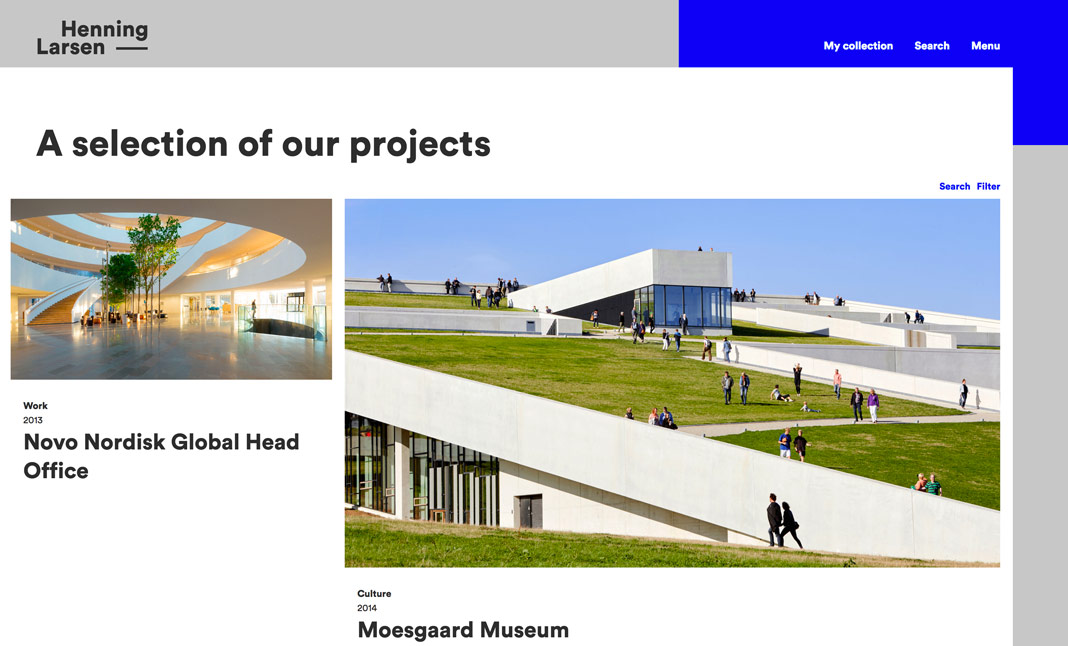 Henning Larsen Architects  screenshot 2