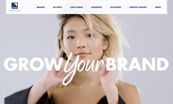 Bauer Advertising website