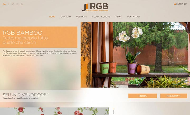 The Garden Reign E-Commerce website